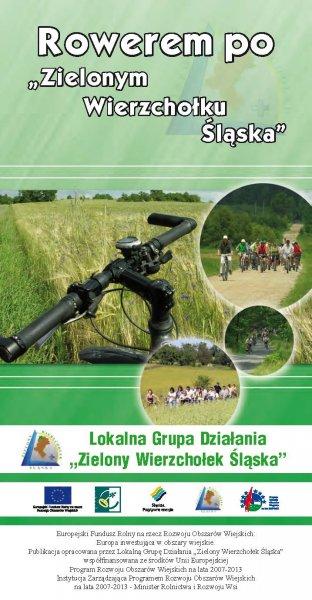 Strona główna publikacji Przewodnik rowerowy pod tytułem Rowerem po Zielonym Wierzchołku Śląska
