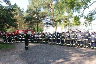 Ćwiczenia strażaków w Krzepicach