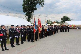 Starosta Kłobucki na rocznicy Ochotniczej Straży