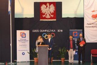 Inauguracja Dni Olimpijczyka w Zespole Szkół nr