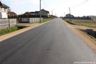 Droga powiatowa wyremontowana za ponad trzy milion