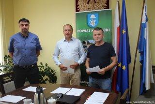 Dotacja Powiatu Kłobuckiego dla spółki wodnej z