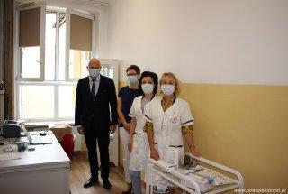 Punkt szczepień w Zespole Szkół Nr 3 w Kłobuck
