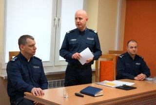 Narada roczna na Komendzie Powiatowej Policji
